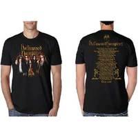 Hollywood Vampires Photo Vampires 2018 Dateback Men's Black T-Shirt (X-Large) - Cover