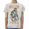 Motley Crue Vintage Sex Drugs Rock & Roll '83 Tour Men's White T-Shirt (Small)