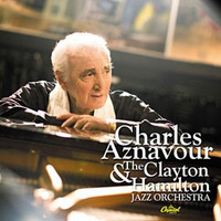 Charles Aznavour - Charles Aznavour With Clayton-Hamilton Orchestra (CD) - Cover