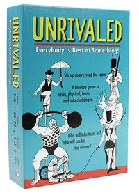 Unrivaled (Board Game) - Cover