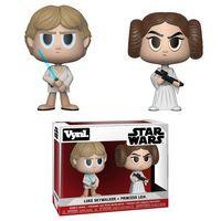 Funko Vynl - Star Wars - Princess Leia & Luke Skywalker Vynl Figure (Pack of 2) - Cover