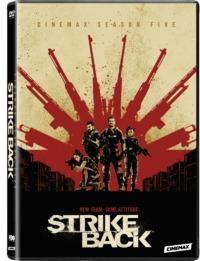 Strike Back - Season 5 (DVD) - Cover