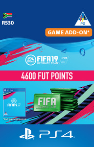 FIFA 19 Ultimate Team Digital - 4600 Points (PS4 Download) - Cover