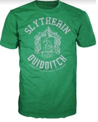 Harry Potter - Slytherin Quidditch Mens T-Shirt (XX-Large) - Cover