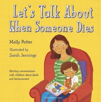Let's Talk About When Someone Dies - Molly Potter (Hardback) - Cover