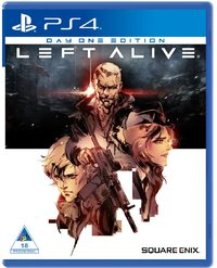 Left Alive (PS4) - Cover