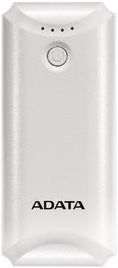 Adata - P5000 5000mAh Powerbank with Flashlight - White