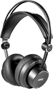 AKG K175 On-Ear Closed-Back Foldable Professional Studio Headphones (Black)