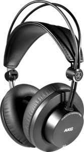 AKG K275 Over-Ear Closed-Back Foldable Professional Studio Headphones (Black) - Cover