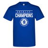 Chelsea Champions 2016/17 Men's Royal Blue T-Shirt (X-Large)