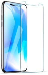 Tuff-Luv - Radian 2.5D Tempered Tuff-Glass for Apple iPhone XS Max - Clear - Cover