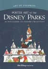 Art of Coloring - Poster Art of the Disney Parks - Imagineers (Paperback)