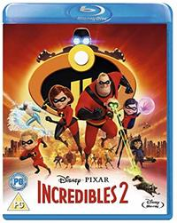 Incredibles 2 (Blu-ray) - Cover
