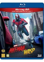 Ant-Man and The Wasp (3D Blu-ray) - Cover