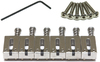 Graphtech PG-8001-00 String Saver Classics Offset Guitar Saddles for Strat/Tele (Brushed Steel)