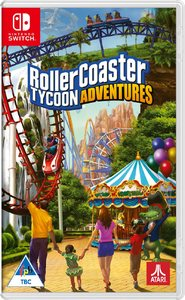 RollerCoaster Tycoon Adventures (Nintendo Switch) - Cover