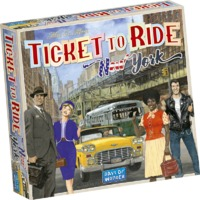 Ticket to Ride - New York (Board Game) - Cover