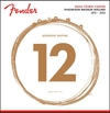 Fender Dura-Tone 12-53 Coated Phosphor Bronze Light Acoustic Guitar Strings