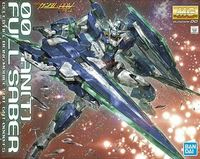 Mobile Suit Gundam - MG 00 QAN[T] Full Saber Mg 1/100 Scale Model Kit (Battlefield Record) (Figure) - Cover