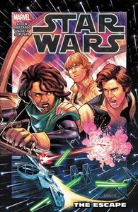 Star Wars: The Escape - Kieron Gillen (Paperback) - Cover