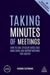 Taking Minutes of Meetings - Joanna Gutmann (Paperback)