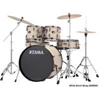 Tama IP52KH6N Imperialstar 5pc Art Grain Wrap Edition Acoustic Drum Kit - White Birch Wrap (10 12 16 14 22 Inch)