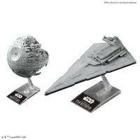 Bandai - 1/14500 - Star Wars - Death Star II & Star Destroyer (Plastic Model Kit) - Cover
