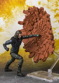 Bandai S.H.Figuarts *Tamashii Web Exclusive* - Avengers: Infinity War - S.H.Figuarts Bucky & Tamashii Effect Impact (Figure) - Cover