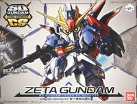 Bandai - SD Gundam Cross Silhouette - Zeta Gundam (Plastic Model Kit) - Cover
