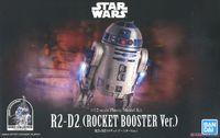 Bandai - 1/12 - Star Wars - R2-D2 (Rocket Booster Version) (Plastic Model Kit) - Cover