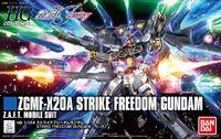 Bandai - 1/144 - Mobile Suit Gundam SEED Destiny - ZGMF-X20A Strike Freedom Gundam (Plastic Model Kit) - Cover