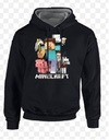 Minecraft - Sprites Black Kohls - Youth Hoodie - X-Small (7-8 Years)