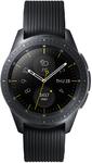 Samsung - Galaxy Watch 1.2 inch BT 42mm - Black with Black Strap