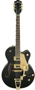 Gretsch G5420TG Limited Edition Electromatic Single-Cut Hollow Body with Bigsby and Gold Hardware (Black) - Cover