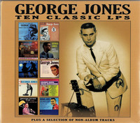 George Jones - Ten Classics Lps (CD) - Cover