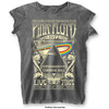 Pink Floyd Carnegie Hall Women's Charcoal T-Shirt (Small)