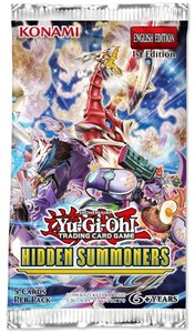 Yu-Gi-Oh! - Hidden Summoners Single Booster (Trading Card Game) - Cover