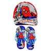 Spiderman - Cap And Slipper Gift Set - Kids Size 27/28 (Kids Size 27/28)