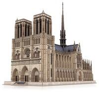 CubicFun - Notre Dame de Paris (France) 3D Puzzle - Cover