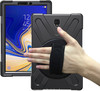 Tuff-Luv Armour Jack Rugged Rotating Case Cover and Stand for Samsung Galaxy Tab S4 10.5 - Black