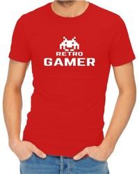 Retro Gamer Men's Red T-Shirt (Medium) - Cover