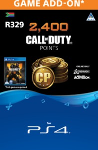 2,000 + 400 Bonus Call of Duty Points (CP) (PS4) - Cover