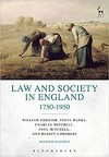 Law And Society In England 1750-1950 - Rebecca Probert (Paperback)