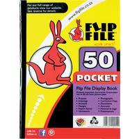 Flip File - A4 Display Book (50 Pocket)