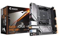 Gigabyte B450 I AORUS PRO WIFI motherboard Socket AM4 AMD mini ATX Motherboard - Cover