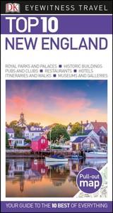 Dk Eyewitness Top 10 New England - DK Travel (Paperback) - Cover