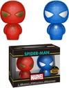 Funko Hikari Xs - Marvel - Spider-Man (Red & Blue) (Pack of 2)