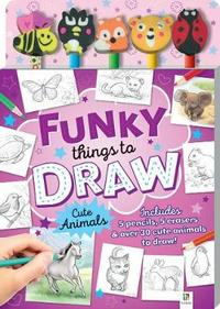 Funky Things 5-Pencil Set (Book) - Cover