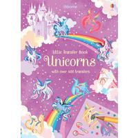 Unicorns Rub Down Transfer Book - Hannah Watson