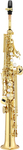 Jupiter JSS1000 1000 Series Bb Straight Soprano Saxophone with Case (Gold Lacquered)